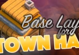 best town hall 4 base layouts