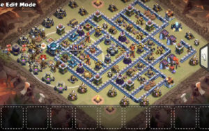 best th13 war base january 2020