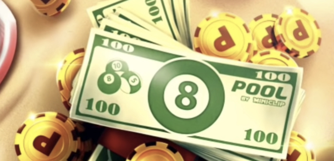 get pool cash in 8 ball pool