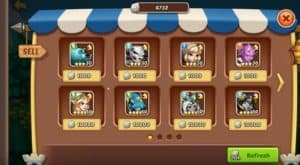 5 star heroes from guild shop