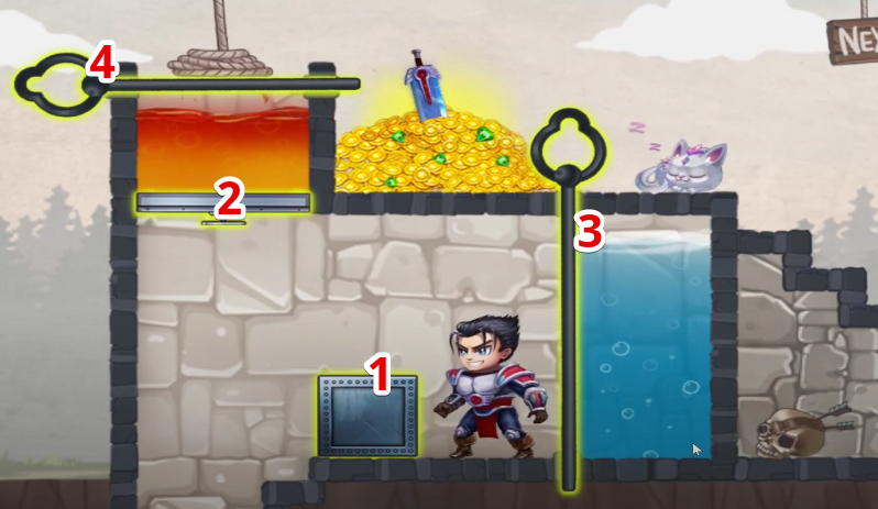hero wars mini puzzle solved chapter 1-2