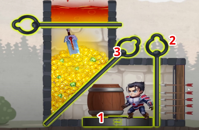hero wars mini puzzle solved chapter 1