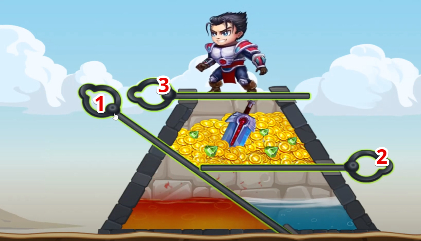 hero wars mini puzzle solved chapter 2