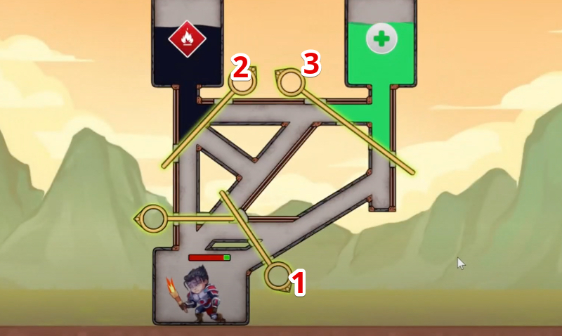 hero wars mini puzzle solved chapter 4