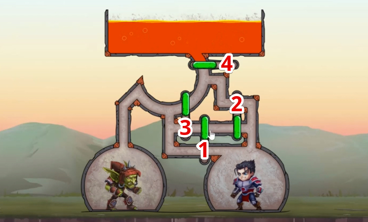 hero wars mini puzzle solved chapter 5