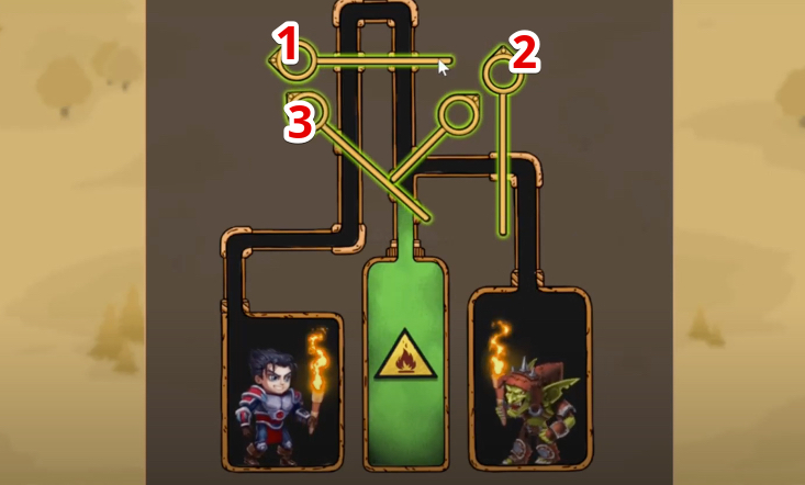 hero wars mini puzzle solved chapter 6