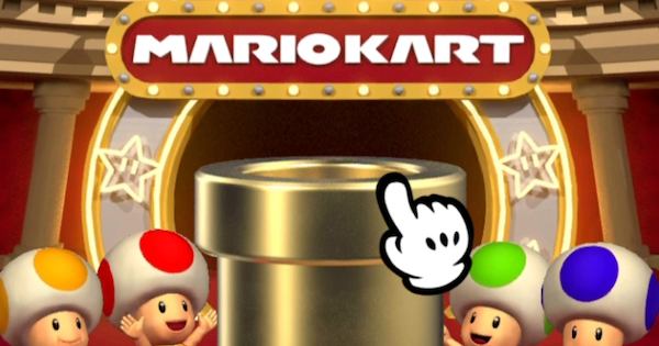 mario kart tour pipe pull guide