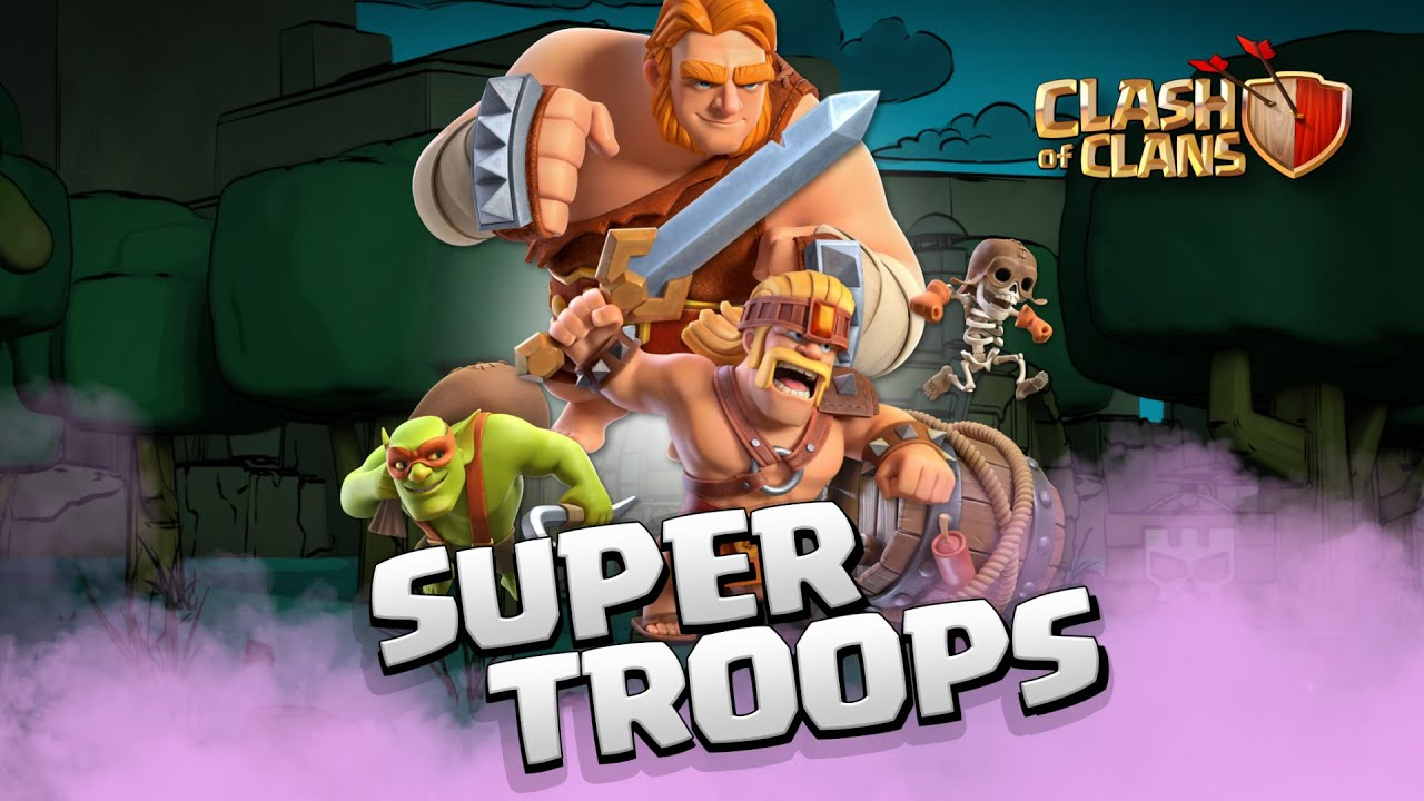 clash of clans super troops guide