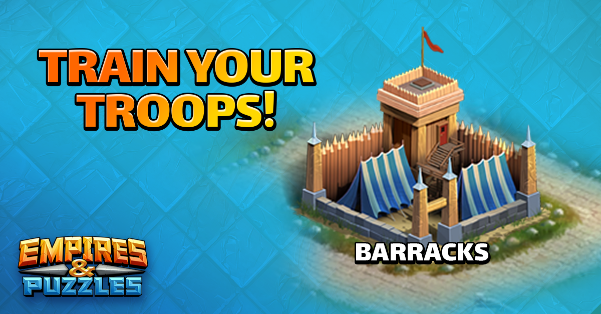 upgrading troops in empires and puzzles