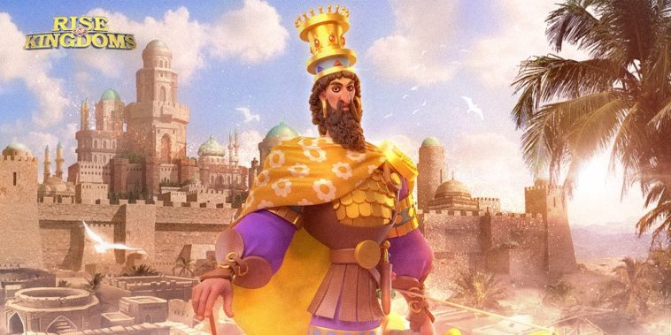 rise of kingdoms cyrus the great best talent build and skill order