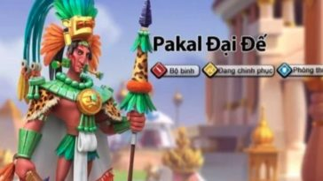 rise of kingdoms pakal best talent build and skill order